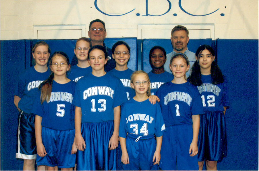 2008 12U Girls Basketball Team