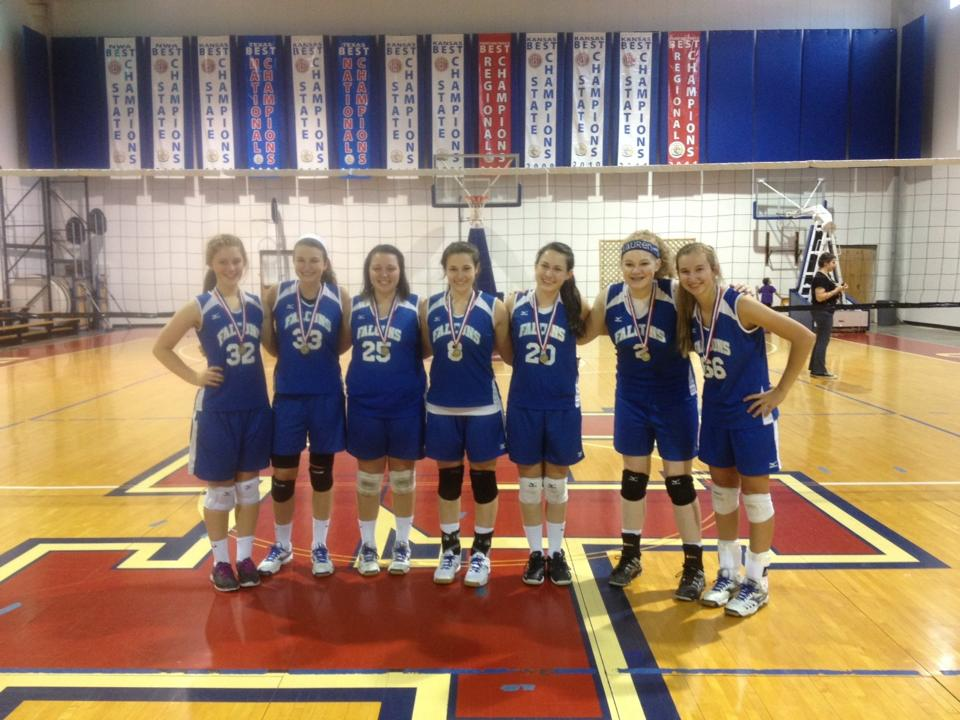 2013 18U Girls Volleyball Team Tournament Champs