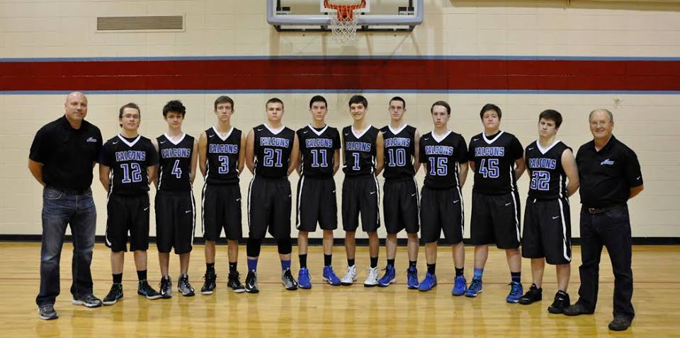 2015-2016  16U Boys Basketball Team