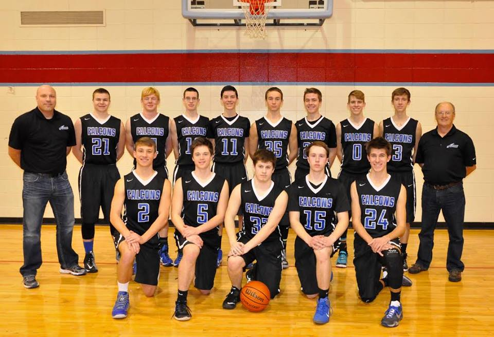 2015-2016 18U Boys Basketball Team