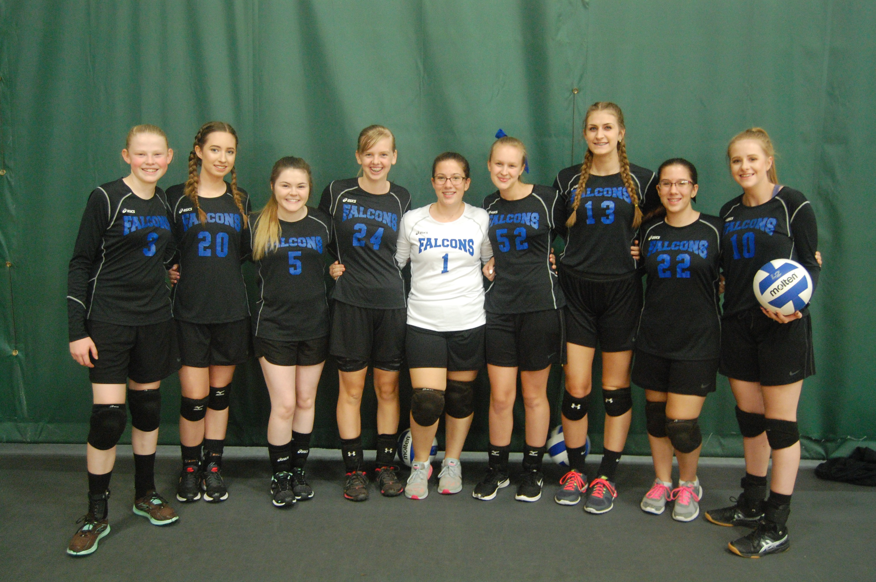 2016 16U Girls Blue Team