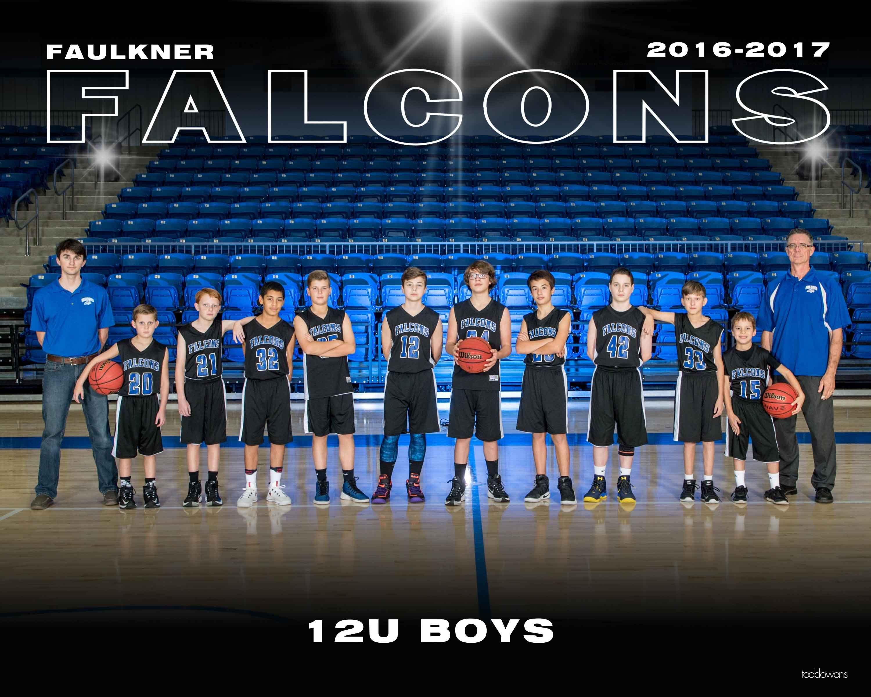 2016-2017 Falcon BB 12U BOYS