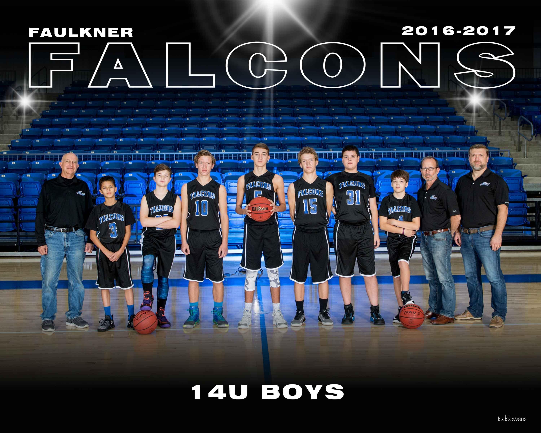 2016-2017 Falcon BB 14U BOYS