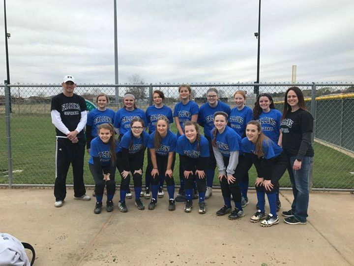2017 18U Falcon Softball Team